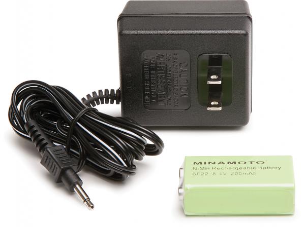 Ladegerät für SuperScanner®V mit 1 Akku + verschiedene Ladestecker