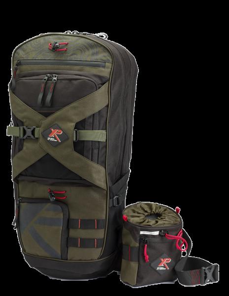 XP Deus / ORX Detektor Backpack 280 + Fundtasche