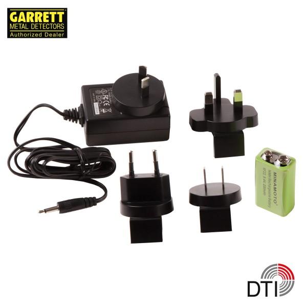 Garrett Super Scanner V mit Akku & Ladegerät