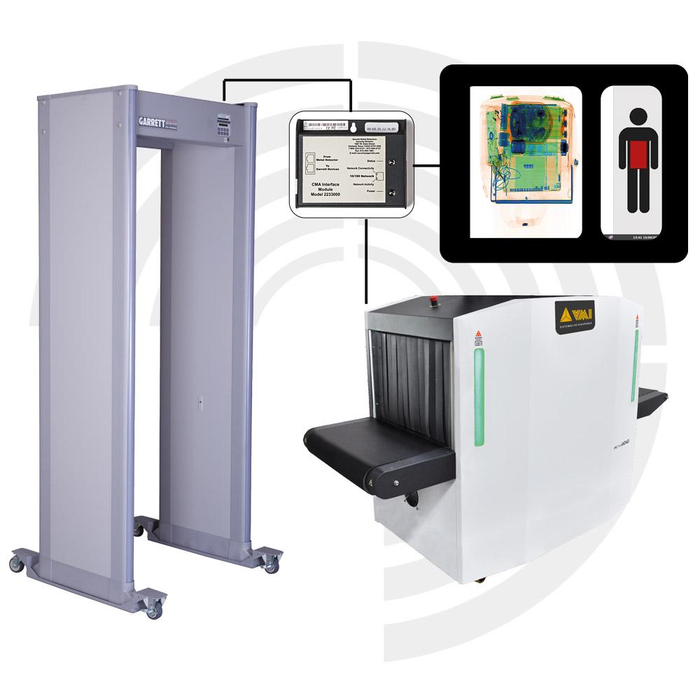 Schnittstelle Detektor und Roentgengeraet